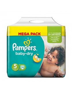 Pampers couches Taille 5  MEGAPACK * 74 couches